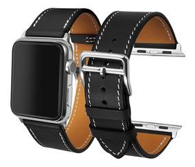 Pulseira Luxo Couro Apple Watch 42mm 38mm