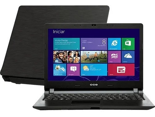 Notebook Cce Ultra Thin Dual Core 4gb Ddr3 Hd 320gbwindows