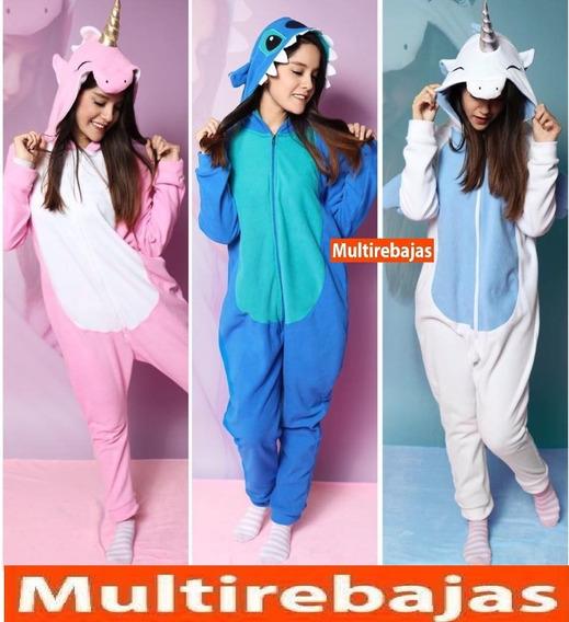 Afelpada Hipoalergenica Pijama Diseños Unicornio Stitch
