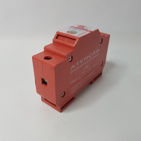 Protetor Surto Dps 175v 8ka Vcl Clamper Monopolar Classe Ii
