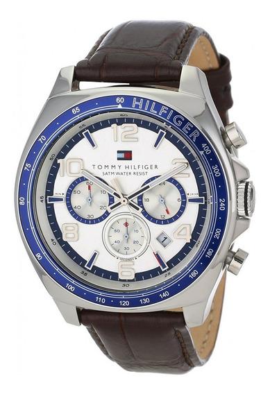 Relógio Tommy Hilfiger 1790937 Unisex Pulseira De Couro