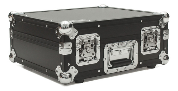 Hard Case Toca Disco Technics Mk2 Black Chrome