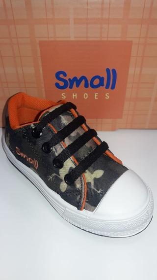 Zapatillas Estamapado Camuflado. Talle 22 Al 30