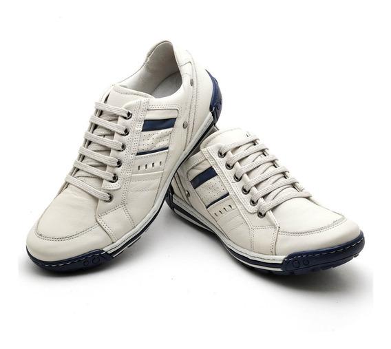 Sapato Sapatênis Casual Bôrdo Bco Ranster 3005 Frete Grátis