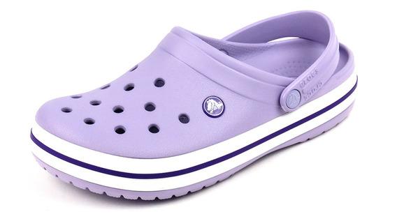 Sandalia Adulto Crocs Crocband Lavender/purple 11016