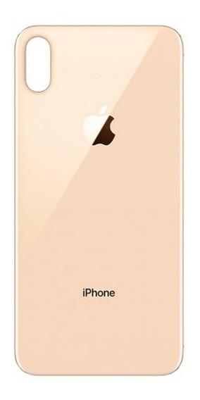 Tapa Trasera Vidrio Repuesto iPhone Xs 10s Dorado Gold