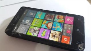 Celular Microsoft Lumia 435 Dual Chip Rm-1068 Com Defeito