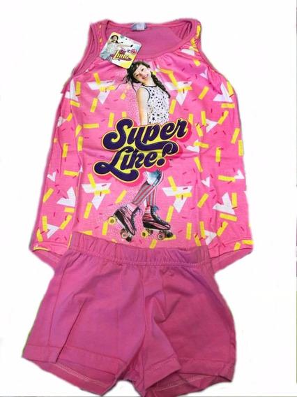 Pijama Soy Luna Frozen Minnie Original Con Lic. Disney