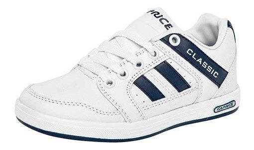 Sneaker Dep Escolar Caprice Blanco Hombre J83007 Udt