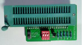 Adaptador Para Gravar Memorias M27c160 E M27c322 Na Tl866