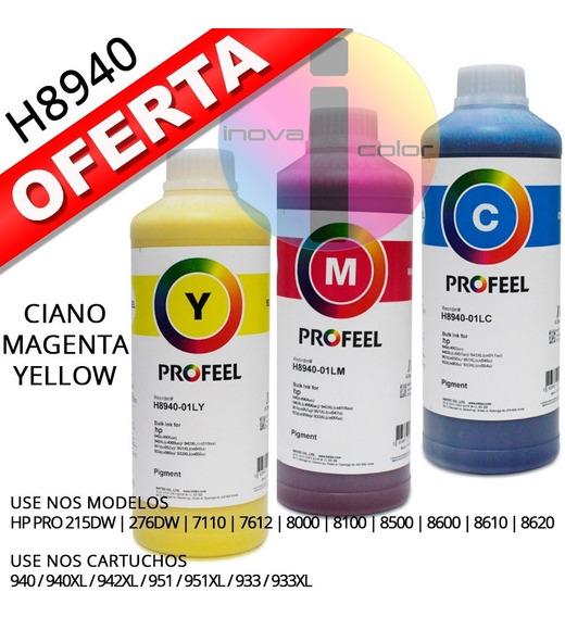 Tinta Hp Pigmentada Profeel H8940 3 Litros