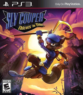 Sly Cooper Thieves In Time ~ Ps3 Digital Español