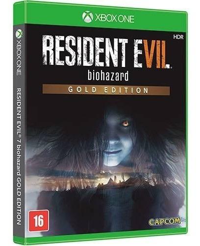 Jogo Resident Evil 7 Gold Edition Br - Xbox One Mídia Física