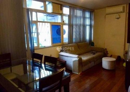 Apartamento Com 3 Dormitórios À Venda, 95 M² Por R$ 650.000,00 - Icaraí - Niterói/rj - Ap38806