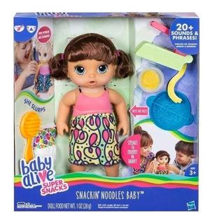 Baby Alive Muñeca Bebe Comiditas Hasbro C0963 Educando