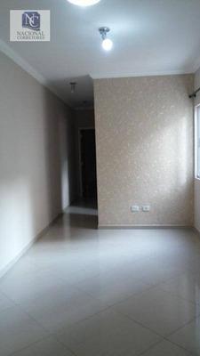 Apartamento Residencial Para Venda E Locação, Parque Das Nações, Santo André - Ap0456. - Ap0456