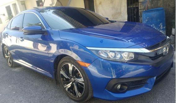 Honda Civic 2016 Ex Full Sunroof Recién Importado Americano