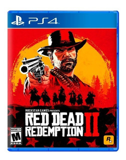 Red Dead Redemption 2 Ps4 Fisico Sellado Nuevo Original