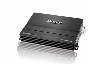 Amplificador Better Bt4720 1200w 4 Canales