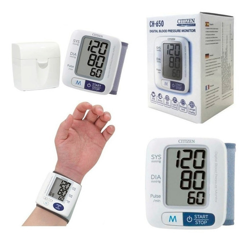 Tensiometro Digital Citizen Ch-650 - Medidor De Presión