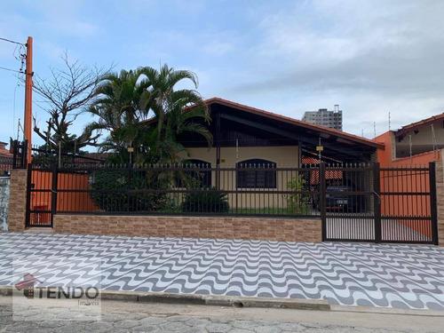Imagem 1 de 30 de Imob01 - Casa 199 M² - 3 Dormitórios - 1 Suíte - Vila Atlântica - Mongaguá/sp - Ca0101