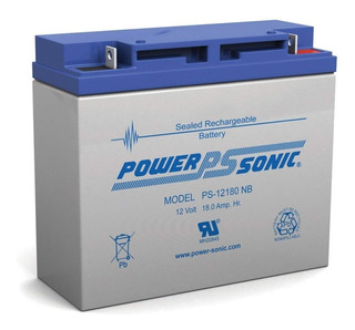 Batería Recargable Power Sonic Ps 12180 12v 18ah (nueva)