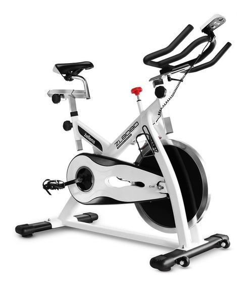 Bicicleta Fija Spinning Profesional Zellens Zl-8080 Mpro N Z