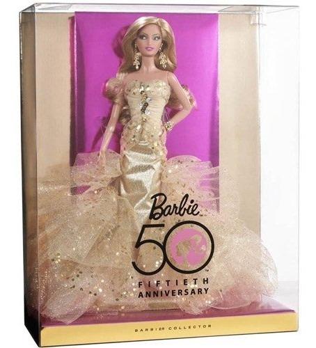 Boneca Barbie Collector- Comemorativa 50 Anos