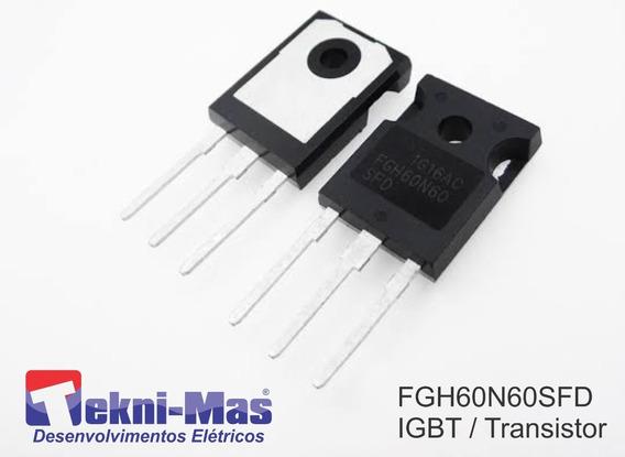 10 Unidades Fgh60n60 Transistor Igbt 60n60 60a 600v To247