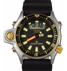Relógio Citizen Aqualand Jp2004-07e / Tz10137p Serie Ouro