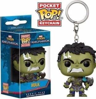Funko Pop Keychain Hulk Thor Ragnarok