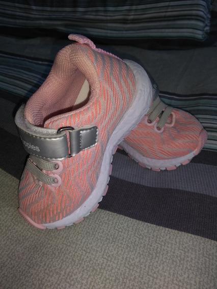 Zapatos Hush Puppies Modelo Bronx Color Coral Nena Talle 20