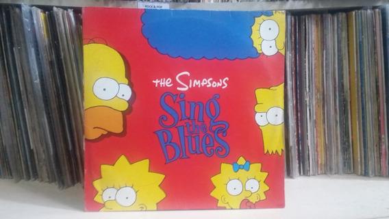 Lp The Simpsons-sing The Blues-ler Descrição!!