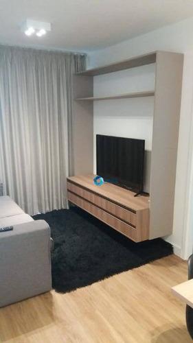 Apartamento, 44 M² - Venda Por R$ 887.000,00 Ou Aluguel Por R$ 3.840,00 - Pinheiros - São Paulo/sp - Ap3187