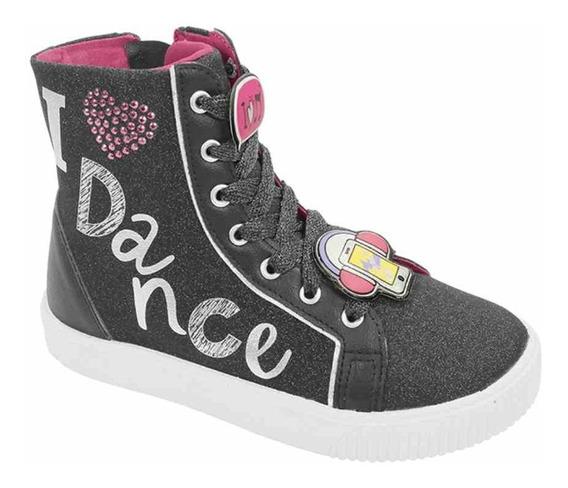 Tênis Pampili Luna Dance Cano Curto