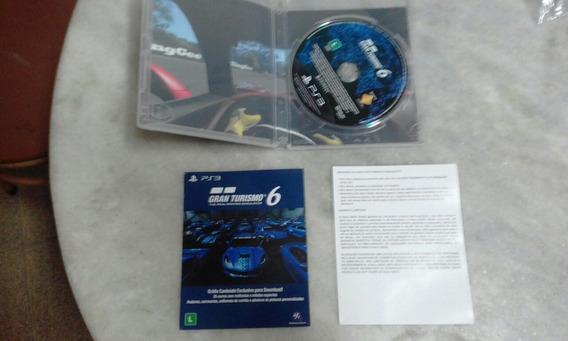 Jogo Gran Turismo 6 Completo Mídia Física Conservado