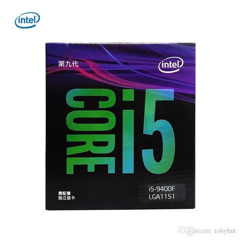 Imagem 1 de 4 de Core I5 9400f 1151 2.9 4,1ghz Turbo Lacrado Na Caixa Vga Off