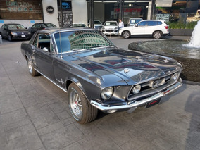 Ford Mustang Hard Top 1967 Gris