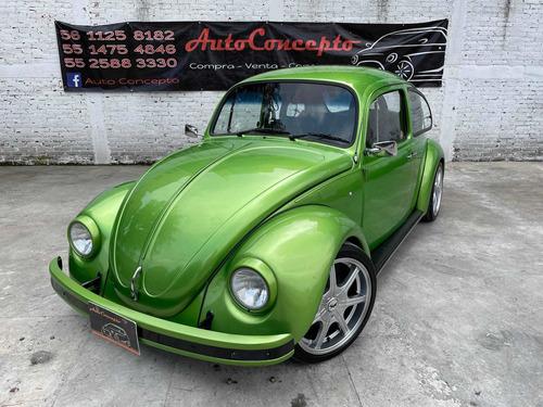 Imagen 1 de 15 de Volkswagen Sedan 1992 Verde Viper Equipado Personalizado