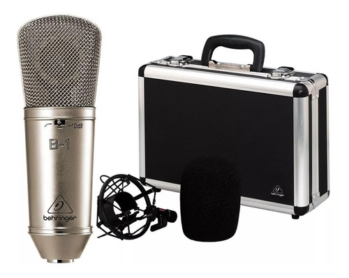 Microfono Behringer B1 Condensador Diafragma Amplia