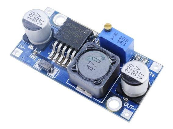 Regulador De Tensão Step Down Buck Dc Dc Lm2596 3a Arduino