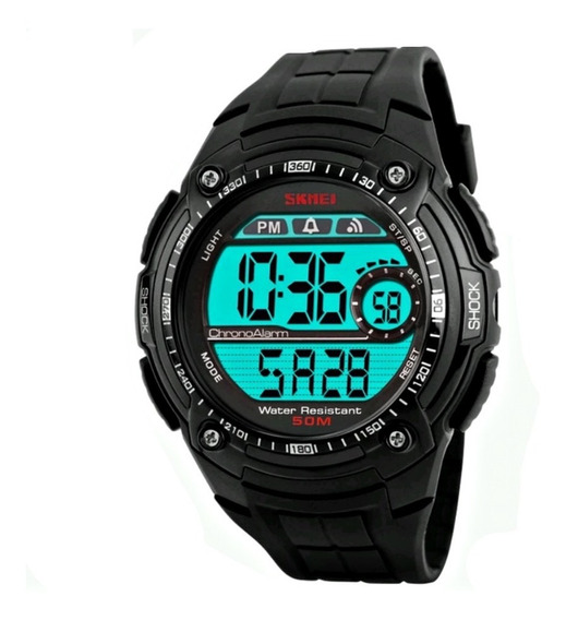 Relógio Masculino Led Digital Esporte Alarme Cronômetro