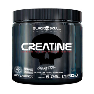 Creatine 150g Black Skull