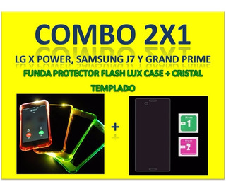 Funda Protector Flashcase Samsung Grand Prime,j7 Y LG Xpower