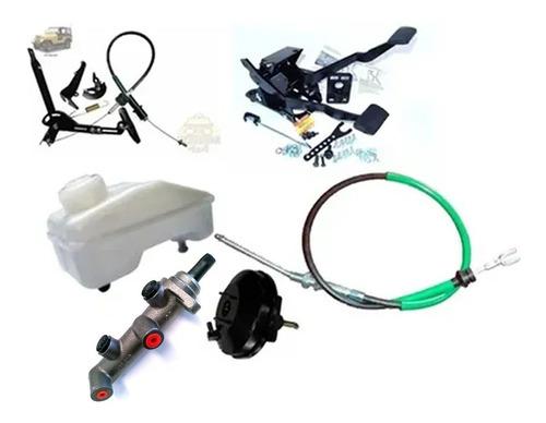 Imagem 1 de 6 de Kit Pedaleira E Pedal Para F75