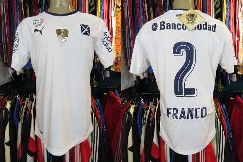 Independiente Recopa 2018 Camisa Reserva Tamanho M #2 Franco