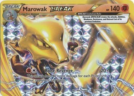Pokémon - 1 X Marowak Break