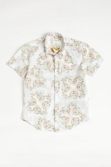 Camisa Mini Sm Onca Mc Reserva Mini