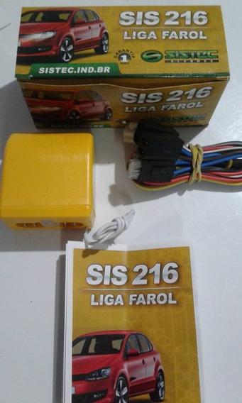 Acendedor Automatico Dos Farois Sis216 Sistec Original