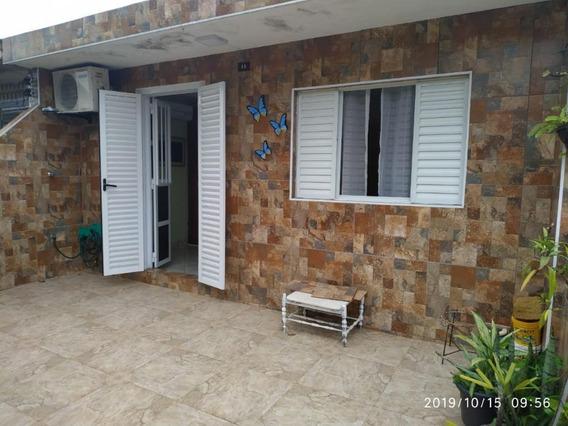 Casa Em Vila São Jorge, São Vicente/sp De 125m² 3 Quartos À Venda Por R$ 350.000,00 - Ca335299